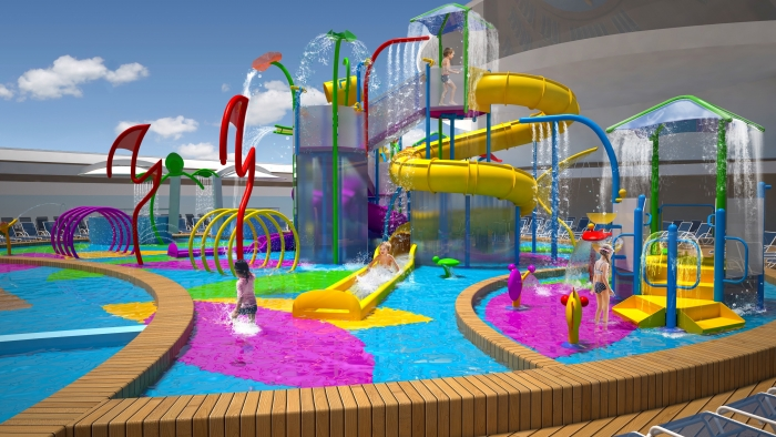 Splashaway Bay ombord på Liberty of the Seas