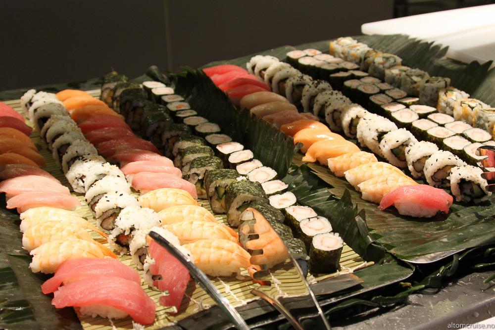 Garden Cafe: Sushi