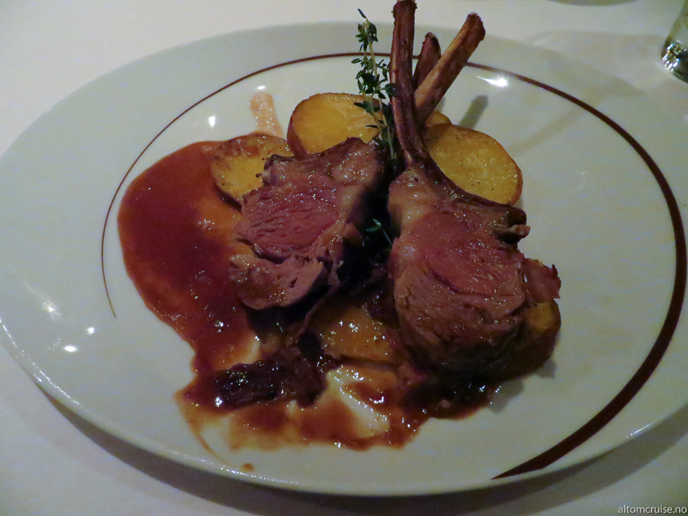 La Cucina: rack of lamb
