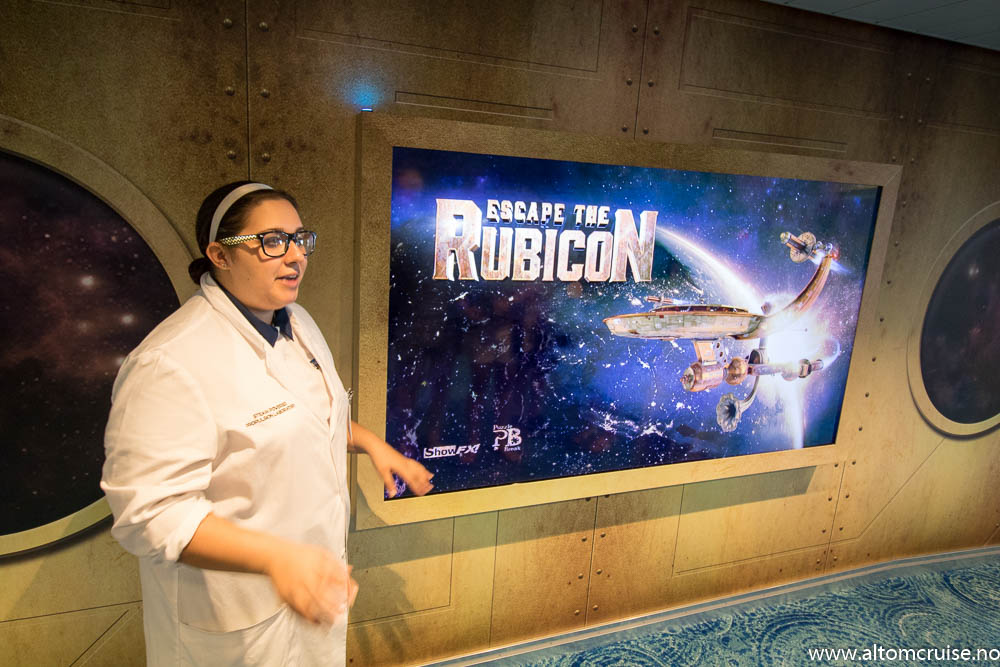 Puzzle Break: Escape the Rubicon